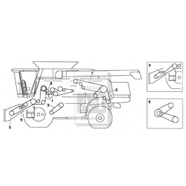 Belt Diagram Scotts 25 Hp 46 Deck 668579 together with Toro Lawn Mowers Pulley Diagram in addition John Deere M655 Parts Diagram further John Deere 54 Inch Mower Deck Belt Diagram also John Deere X500 Engine Diagram. on john deere d170 wiring diagram