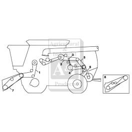 Belt, Feeder House Variable Speed (STD)