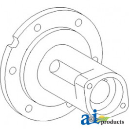 Hub, Pulley; Unloader Drive