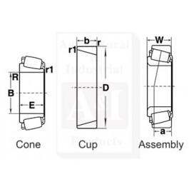 Differentaial Bearing Cup