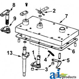 Kit: 71526KIT, arms, rollers, spring
