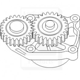 Pump, Engine Oil; 4-390/4T390