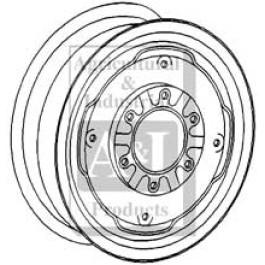 "Rim, Front Wheel 6LB X 15"""