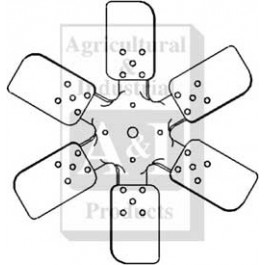 Fan (6 Blade, Pusher)