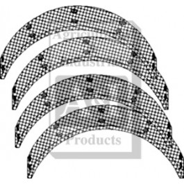 Brake Lining Kit (Set of 4 w/ Rivets)