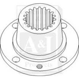 Coupler, Hydraulic Pump Drive w/ A/C