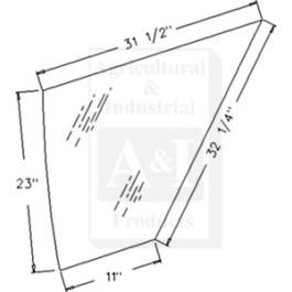 Glass, Door, Lower (RH)