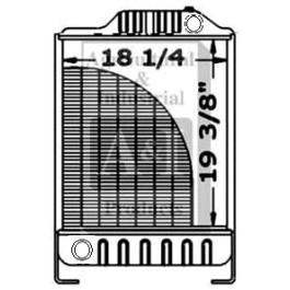 Radiator, w/o A/C - K307602