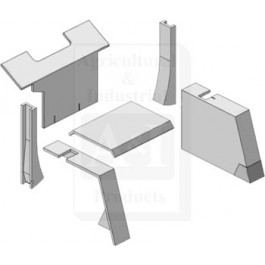 Cab Foam Kit, Gray
