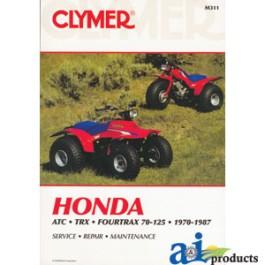 CLYMER ATV MANUAL - HONDA