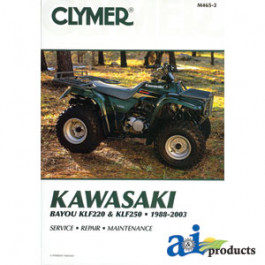 Clymer ATV Manual - Kawasaki