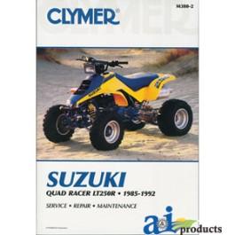 CLYMER ATV MANUAL-SUZUKI