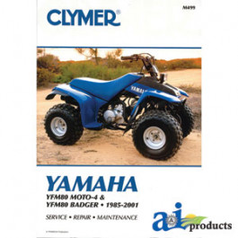 Clymer ATV Manual - Yamaha
