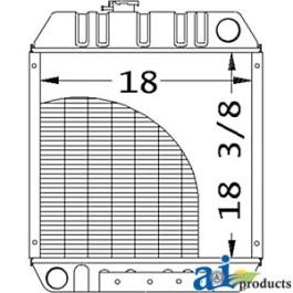Radiator - MG86534249