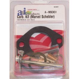 Carburetor Kit, Complete (Marvel Schebler)