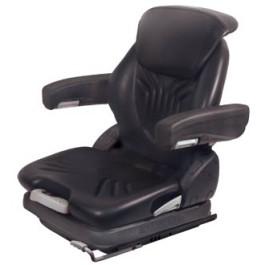 Grammer Seat Assembly, Black; Vinyl