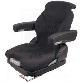 Grammer Seat Assembly, CHARCOAL MATRIX CLOTH