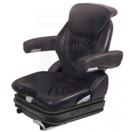 Grammer Seat Assembly, BLK VINYL