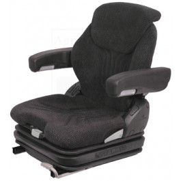 Grammer Seat Assembly, Charcoal Matrix; Cloth