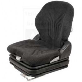 Grammer Seat, Charcoal Matrix; Cloth