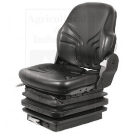 Seat, Mechanical Suspension; L/ Arm Rests, BLK VINYL