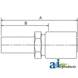 (HC-MW) Male Standpipe - Rigid - Straight