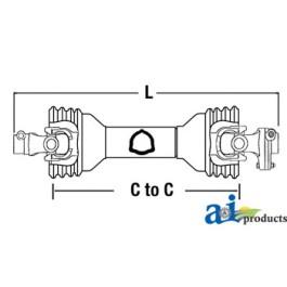 Complete Driveline W/ SB Torque Limiter