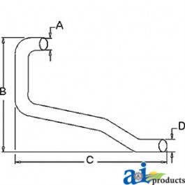 Horizontal Outlet Pipe