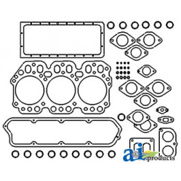 Gasket Set, Overhaul w/ Seals