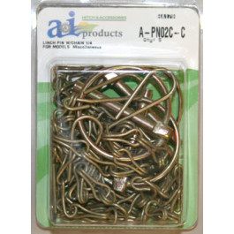 "Lynch Pin w/ Chain, .250"" (5 pk)"