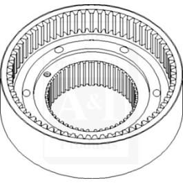 Ring Gear; W/ Hub