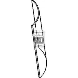 Glass, Windshield, Upper (RH)