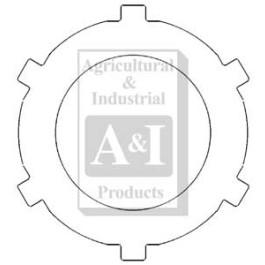 Plate, PTO Clutch & Brake