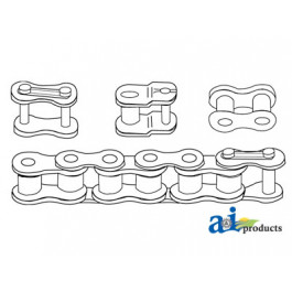 80 Hvy Roller Chain, 10ft (Import)