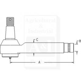 Tie Rod End (LH)