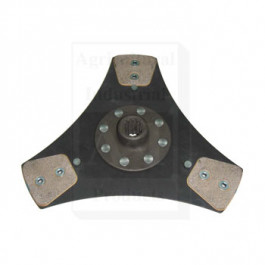 "PTO Disc: 11"", Rigid; 3 Button"