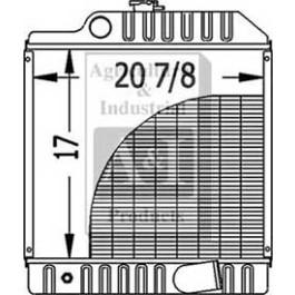 Radiator - RE70236