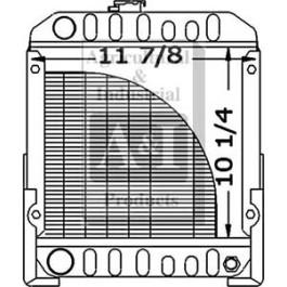 Radiator - SBA310020020
