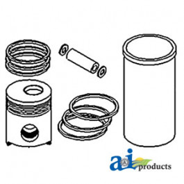 Piston Liner Kit w/Flat Head Piston