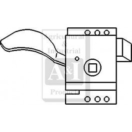 Slam Latch, Cab Door Interior (LH)