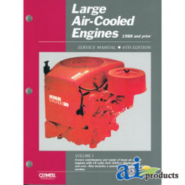 Large Air-Cooled Engine Service Manual, 1988 and Prior, Volume 1