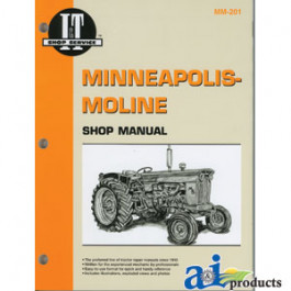 Minneapolis-Moline Shop Manual