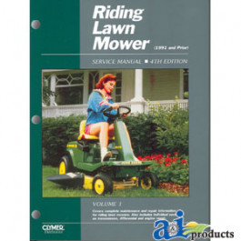 Riding Lawn Mower Service Manual, Volume 1