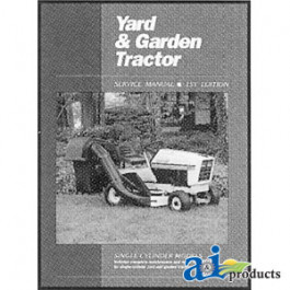 Yard & Garden Tractor Service Manual, Volume 1