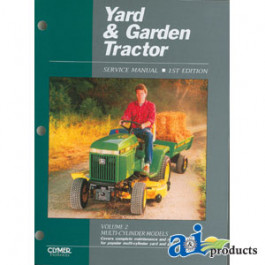 Yard & Garden Tractor Service Manual, Volume 2