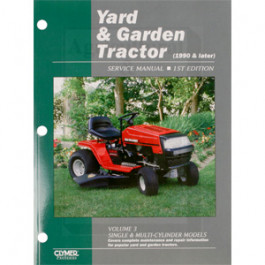 Yard & Garden Tractor Service Manual, Volume 3