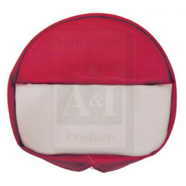 Deluxe Tie-On Seat Pad for H&M Pans, RED/WHT