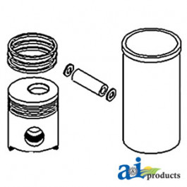 Sealing Ring Kit, Liner, 2 Oring