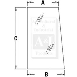 Glass, Side, Upper (RH/LH)