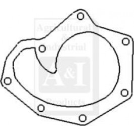 Gasket, Water Pump Backplate